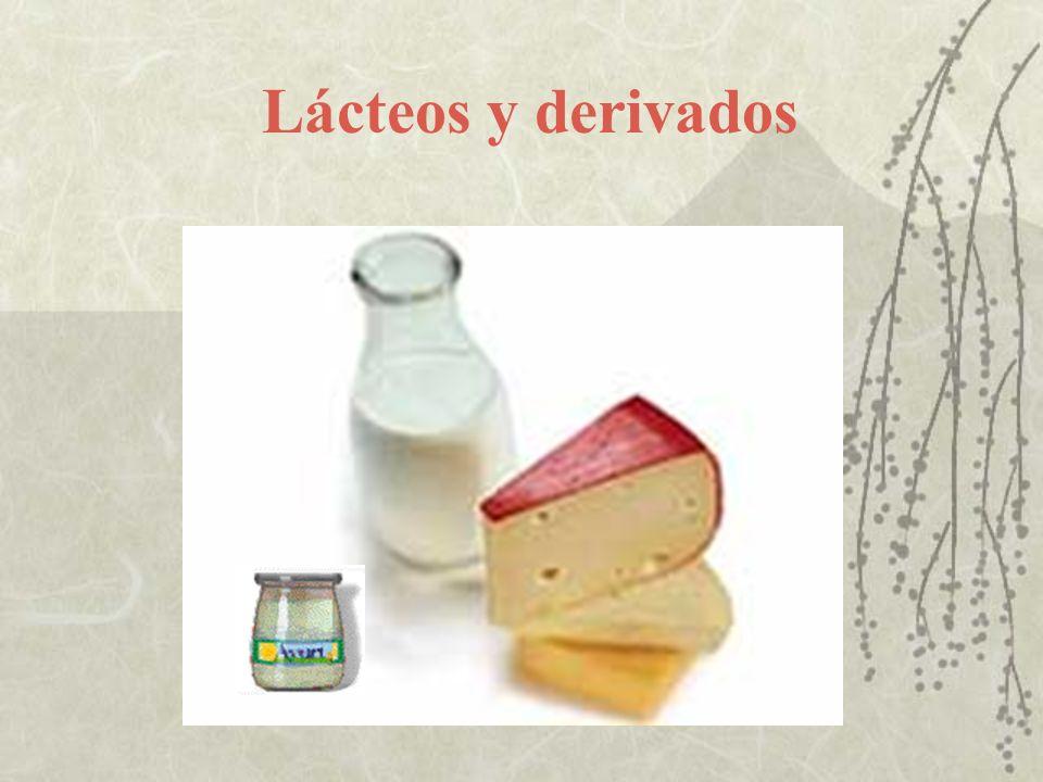 Lácteos y derivados