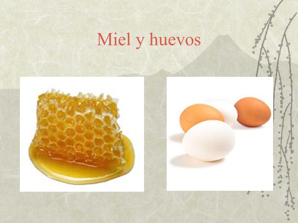 Miel y huevos