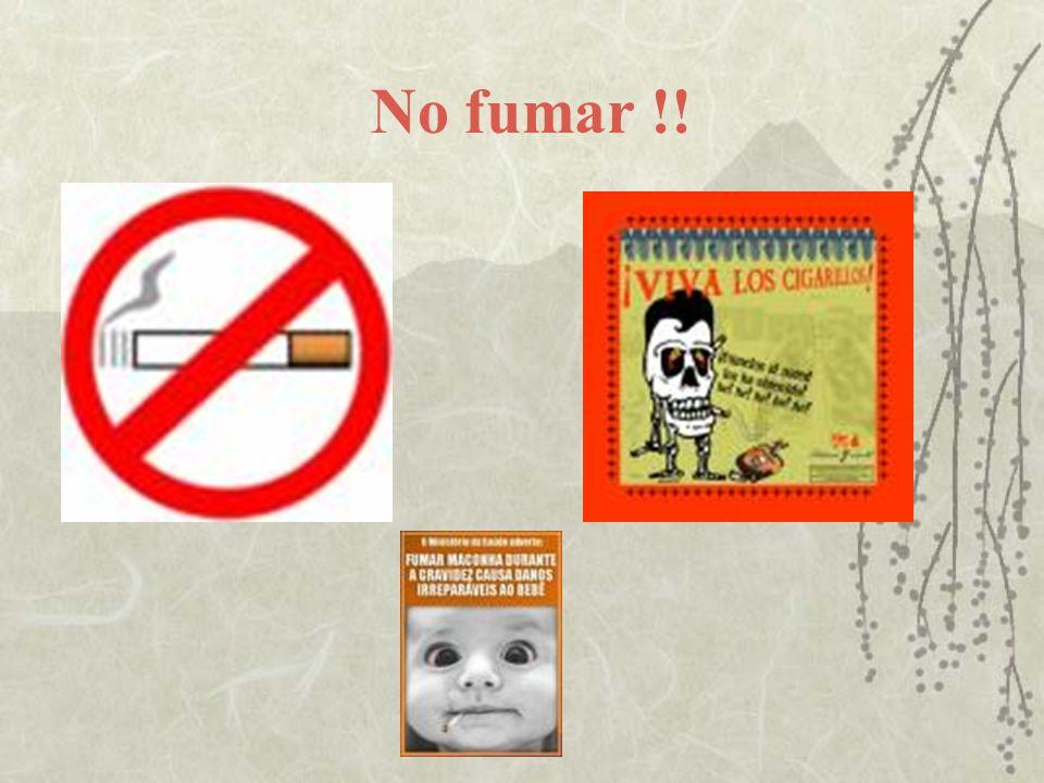 No fumar !!