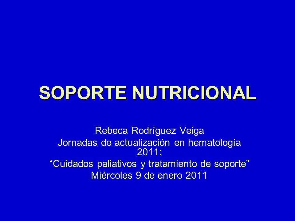 SOPORTE NUTRICIONAL Rebeca Rodríguez Veiga