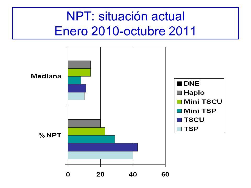 NPT: situación actual Enero 2010-octubre 2011