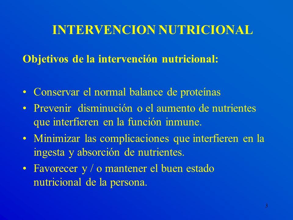 INTERVENCION NUTRICIONAL