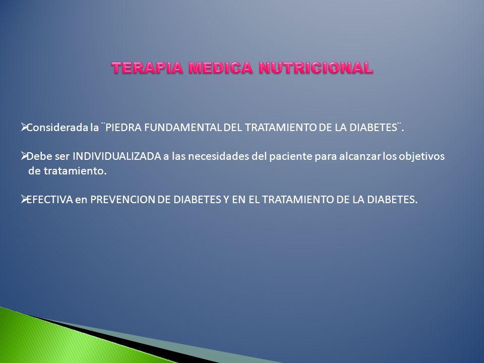 TERAPIA MEDICA NUTRICIONAL