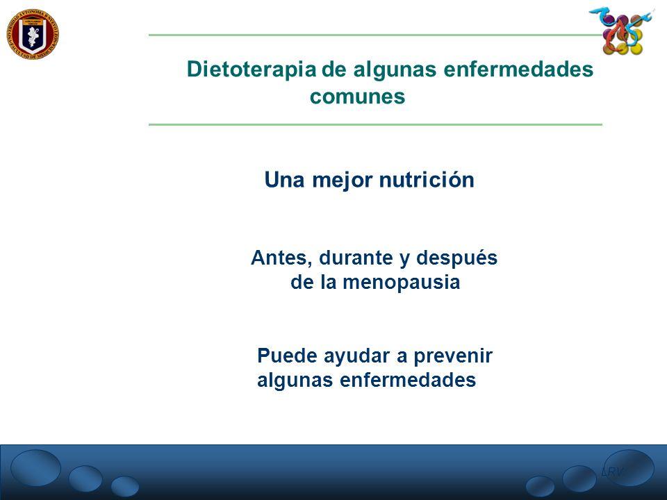 Dietoterapia de algunas enfermedades comunes