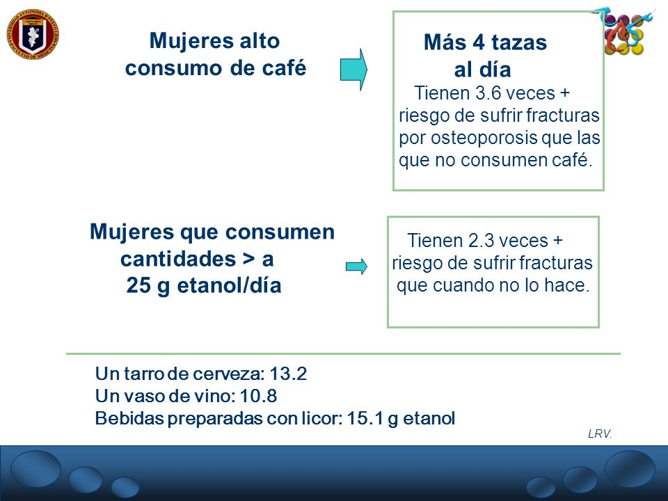Mujeres alto Más 4 tazas consumo de café al día Mujeres que consumen