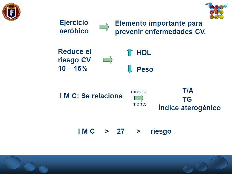 Elemento importante para prevenir enfermedades CV.