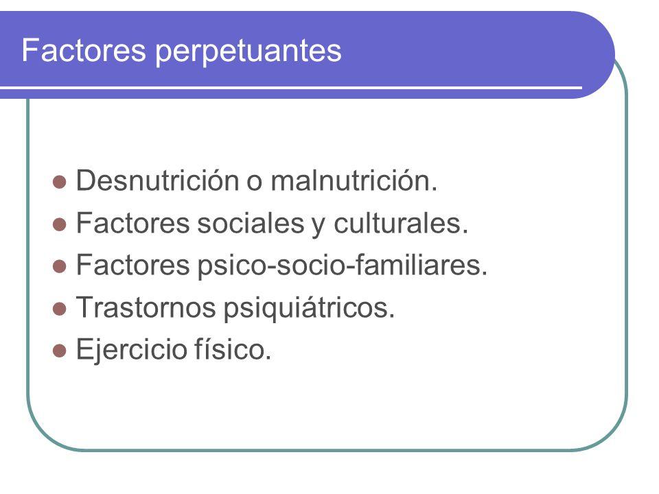 Factores perpetuantes