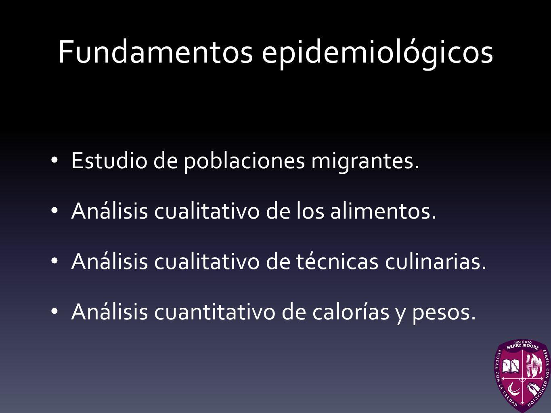 Fundamentos epidemiológicos