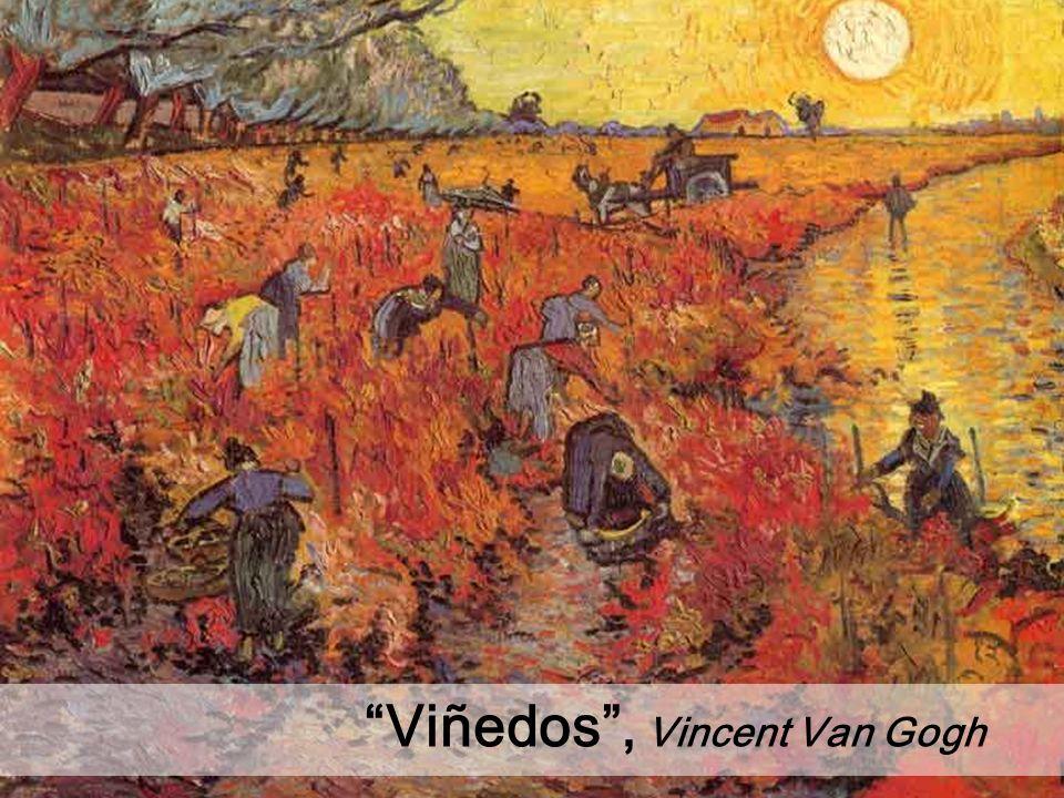 Viñedos , Vincent Van Gogh