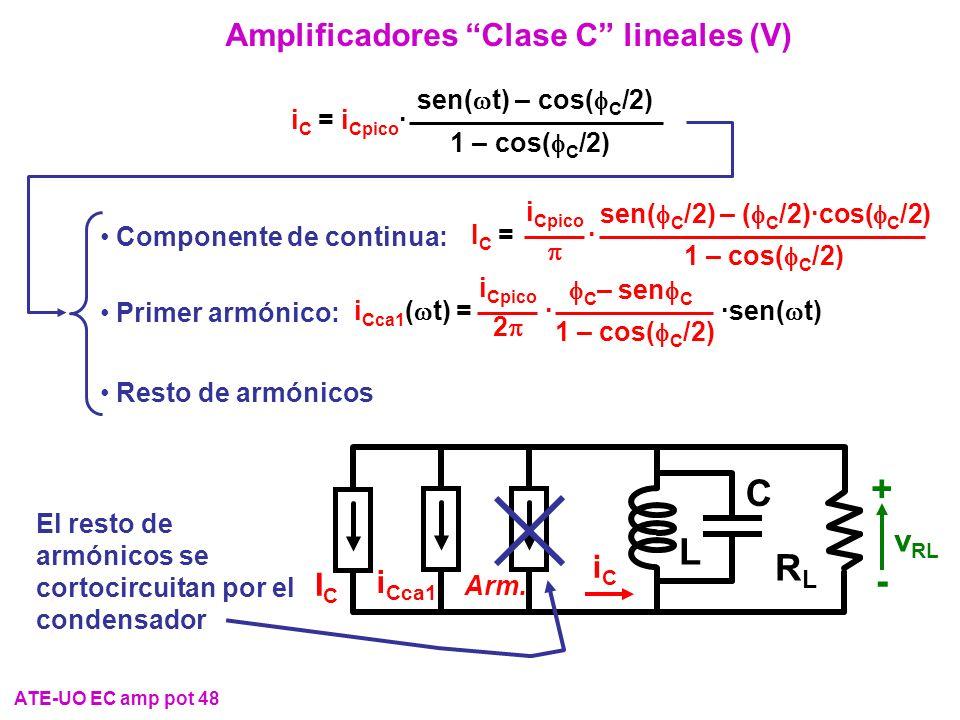 Amplificadores Clase C lineales (V)