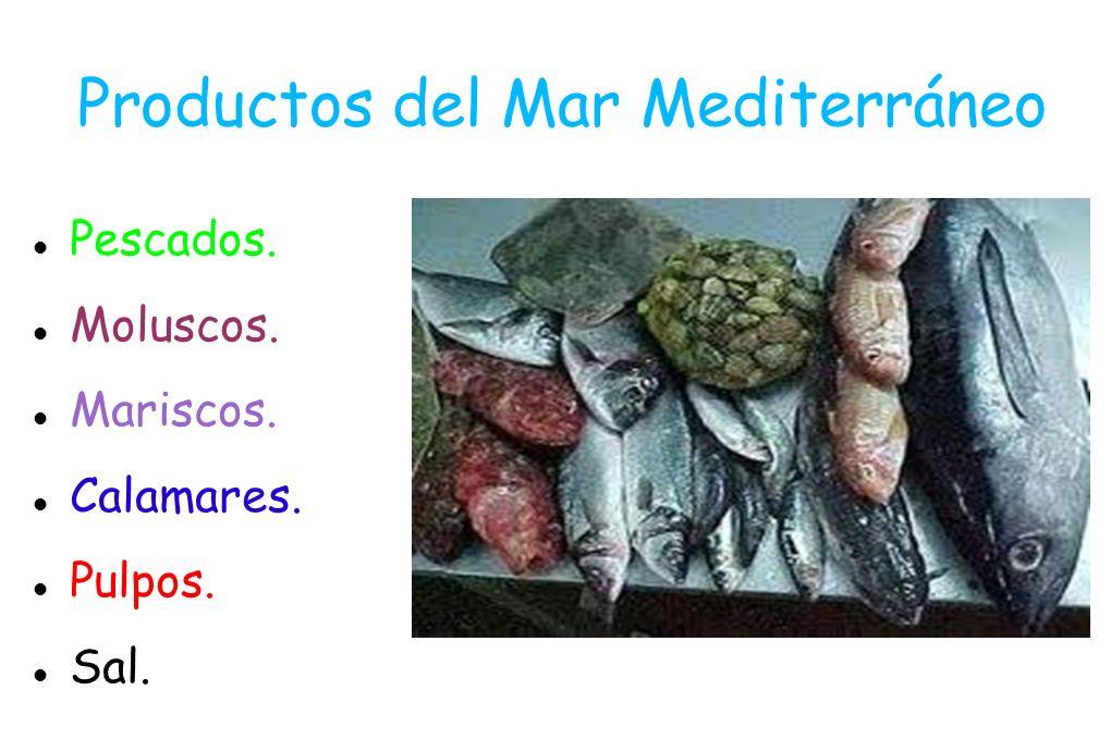 Productos del Mar Mediterráneo