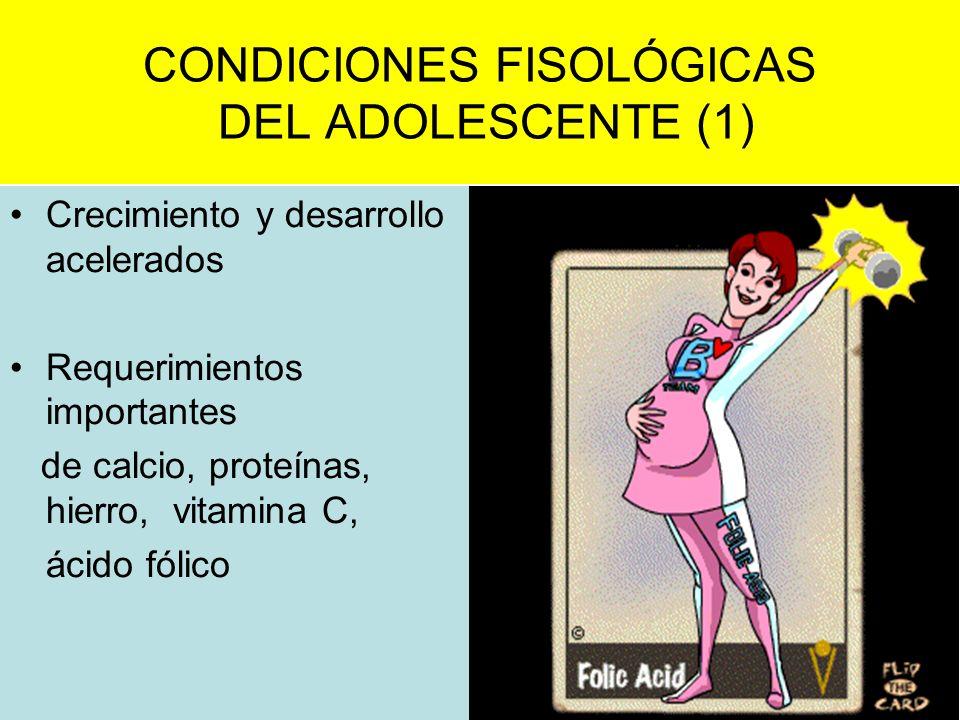 CONDICIONES FISOLÓGICAS DEL ADOLESCENTE (1)