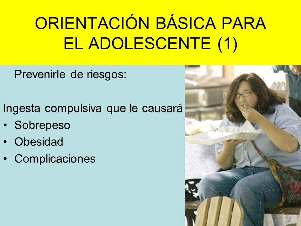 ORIENTACIÓN BÁSICA PARA EL ADOLESCENTE (1)