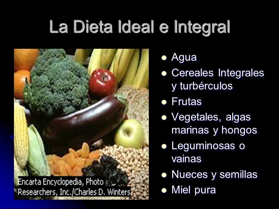 La Dieta Ideal e Integral