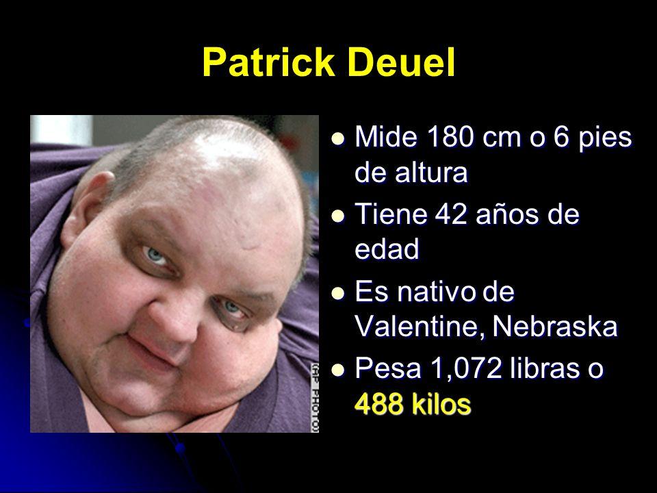 Patrick Deuel Mide 180 cm o 6 pies de altura Tiene 42 años de edad