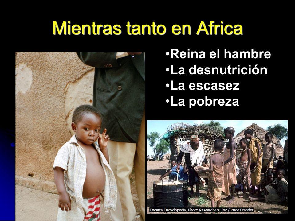 Mientras tanto en Africa