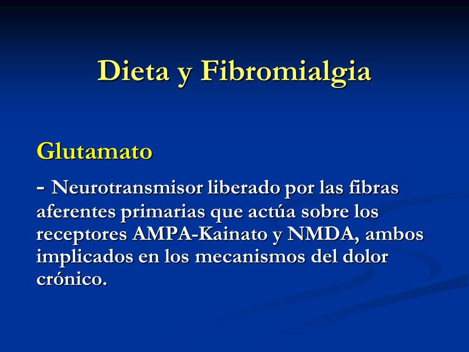 Dieta y Fibromialgia Glutamato