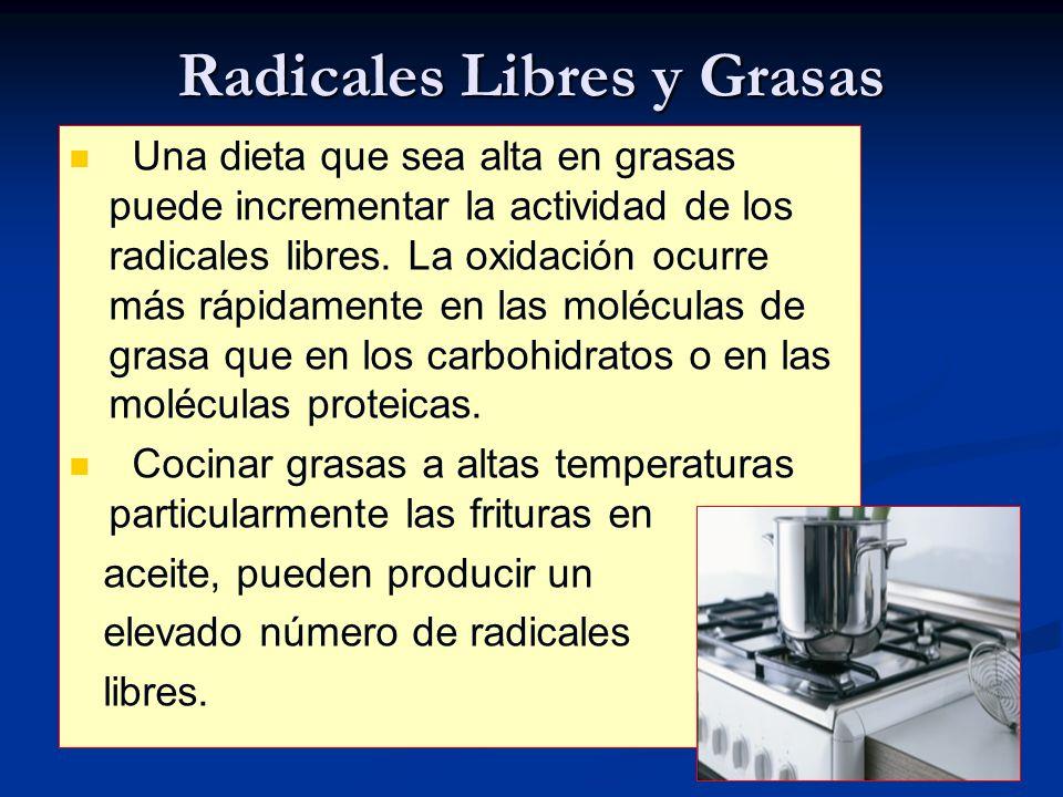 Radicales Libres y Grasas