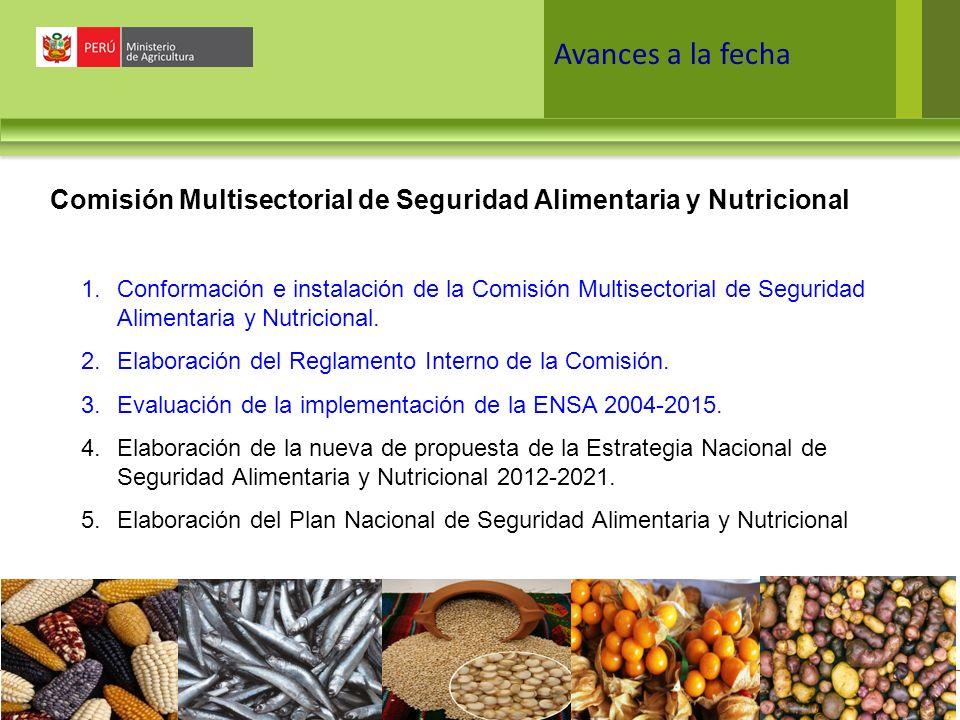 Comisión Multisectorial de Seguridad Alimentaria y Nutricional