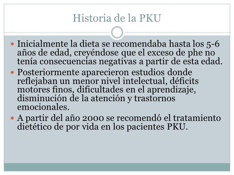 Historia de la PKU