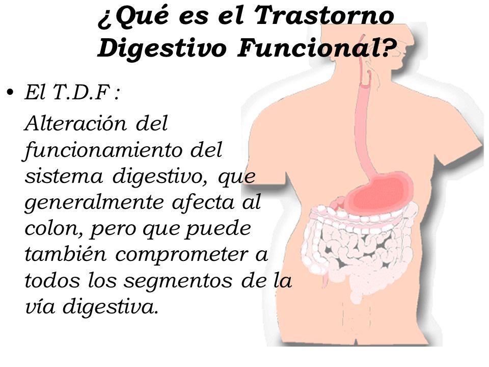 ¿Qué es el Trastorno Digestivo Funcional