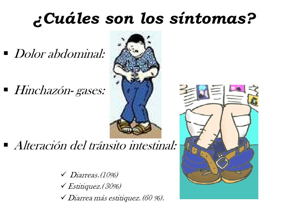 ¿Cuáles son los síntomas