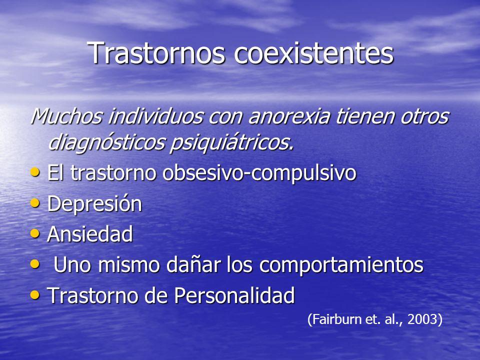 Trastornos coexistentes