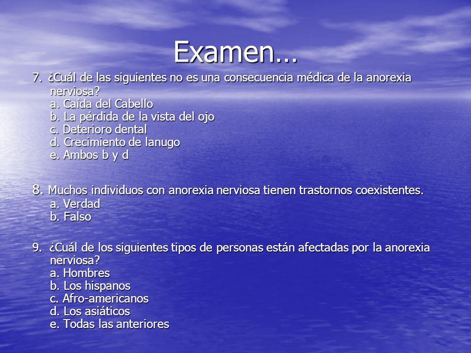 Examen…