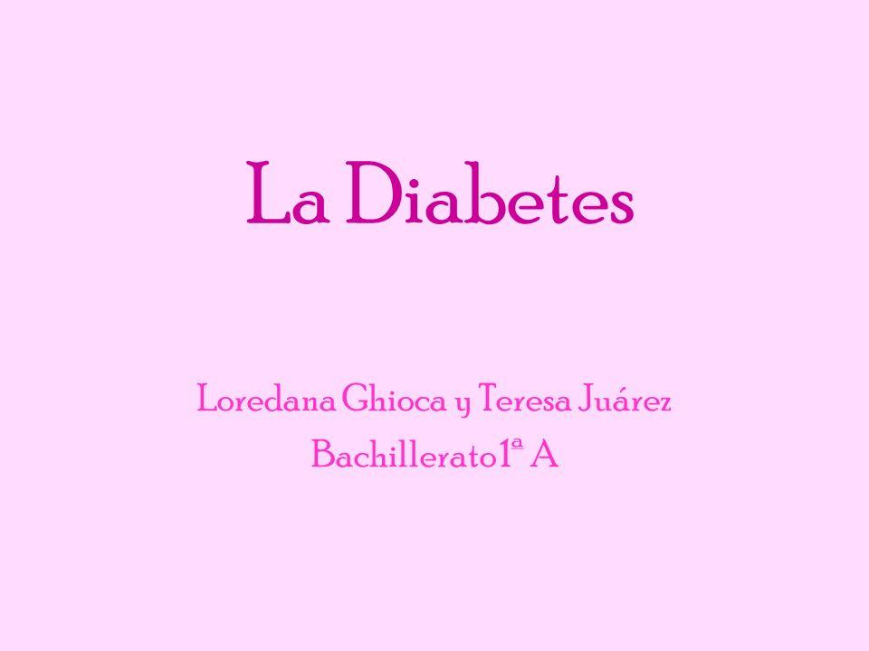 Loredana Ghioca y Teresa Juárez Bachillerato 1ª A
