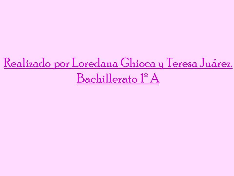 Realizado por Loredana Ghioca y Teresa Juárez.
