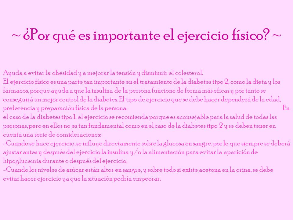 ~ ¿Por qué es importante el ejercicio físico ~