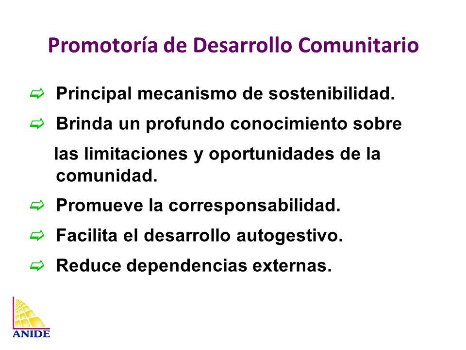Promotoría de Desarrollo Comunitario