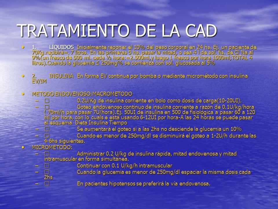 TRATAMIENTO DE LA CAD