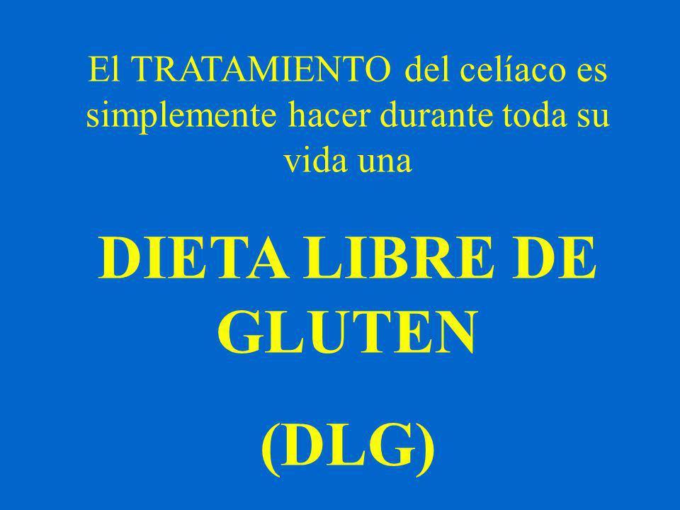 DIETA LIBRE DE GLUTEN (DLG)