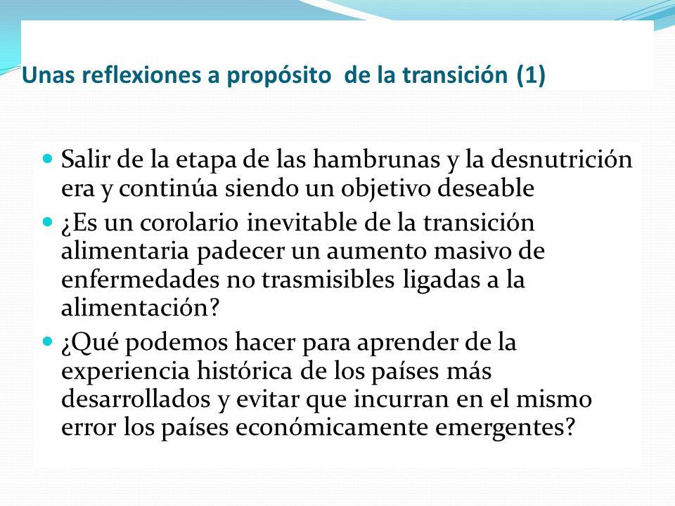 Unas reflexiones a propósito de la transición (1)