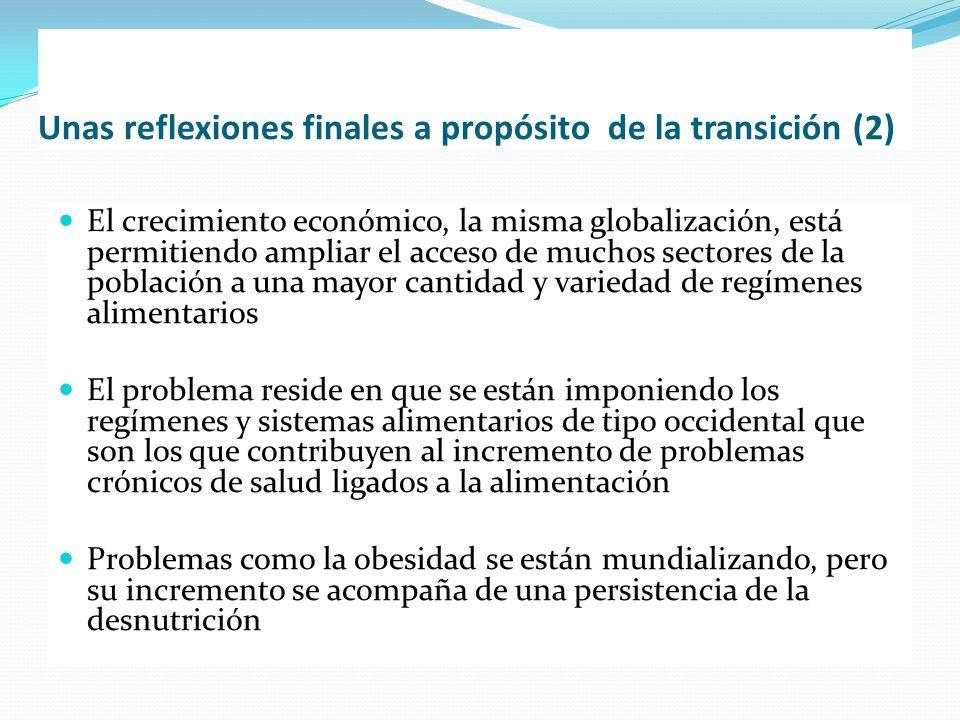 Unas reflexiones finales a propósito de la transición (2)