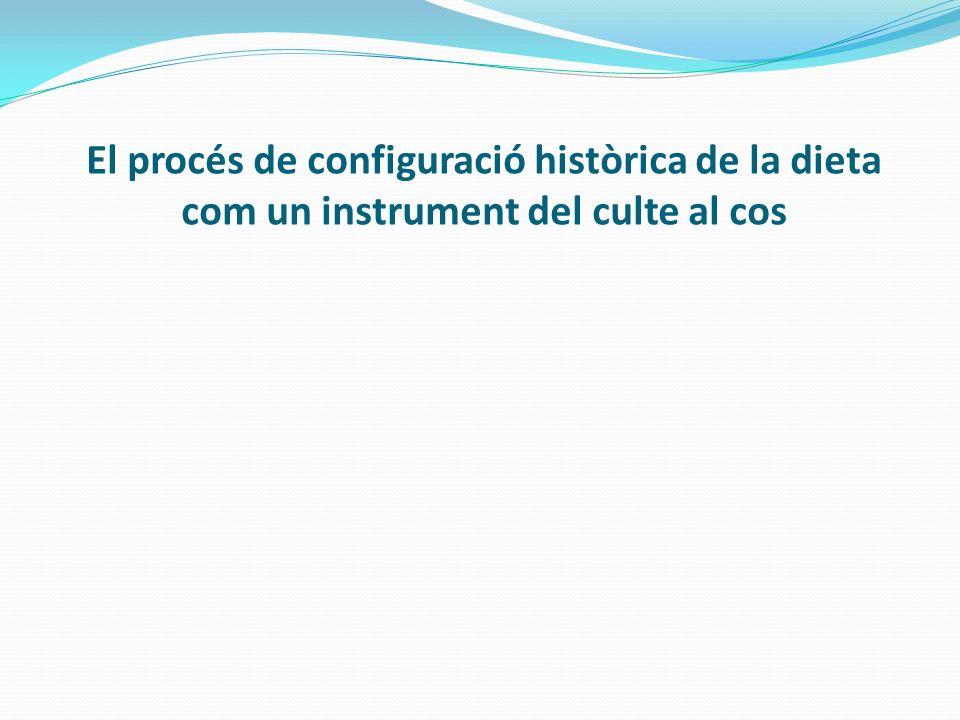 El procés de configuració històrica de la dieta com un instrument del culte al cos