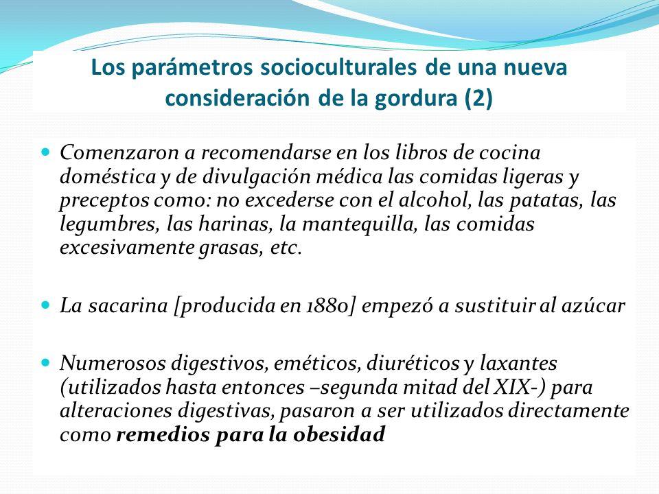 Los parámetros socioculturales de una nueva consideración de la gordura (2)