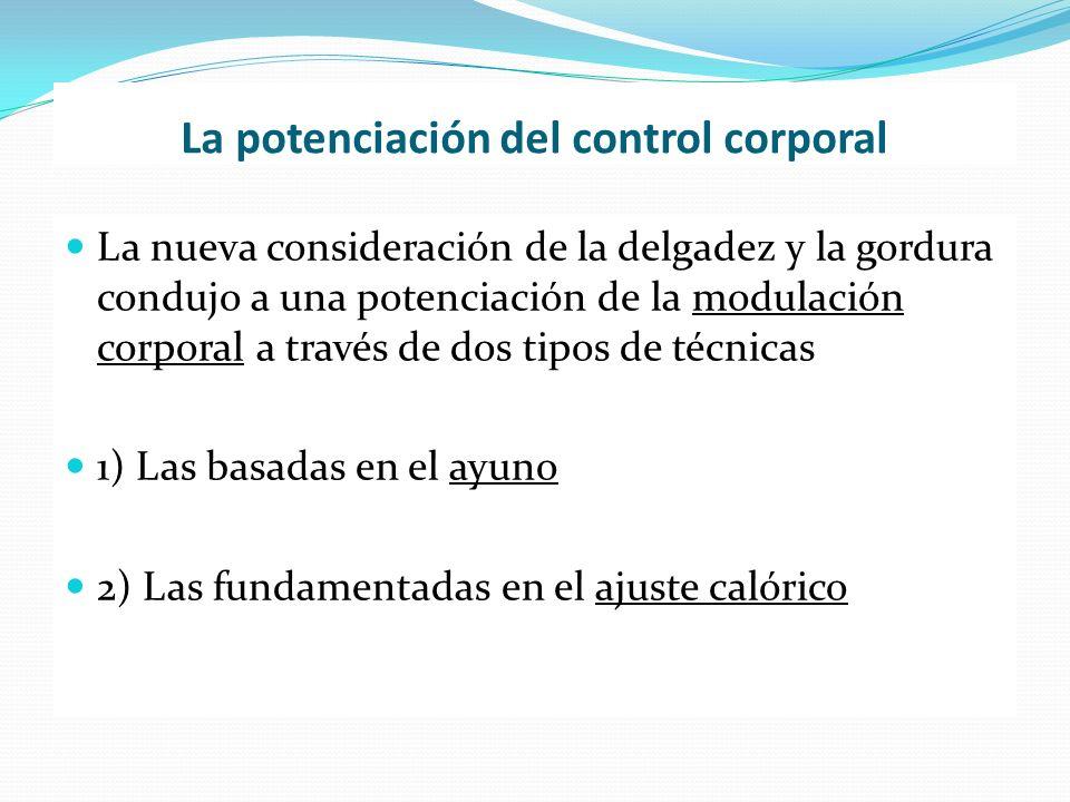 La potenciación del control corporal