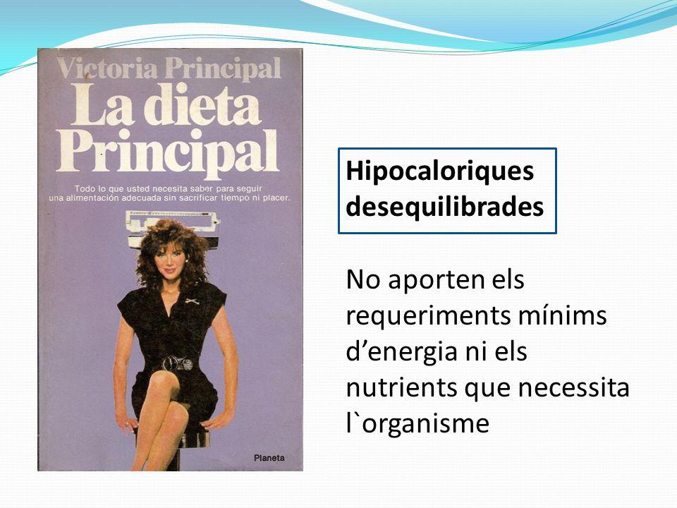 Hipocaloriques desequilibrades