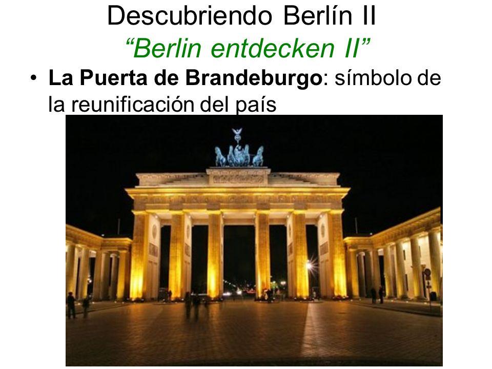 Descubriendo Berlín II Berlin entdecken II
