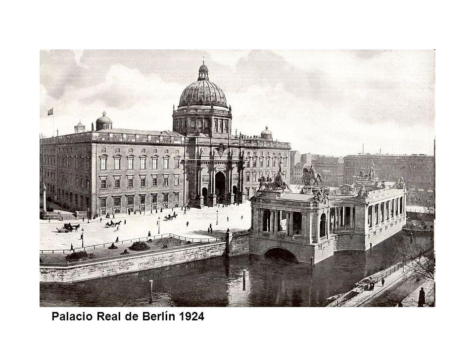 Palacio Real de Berlín 1924