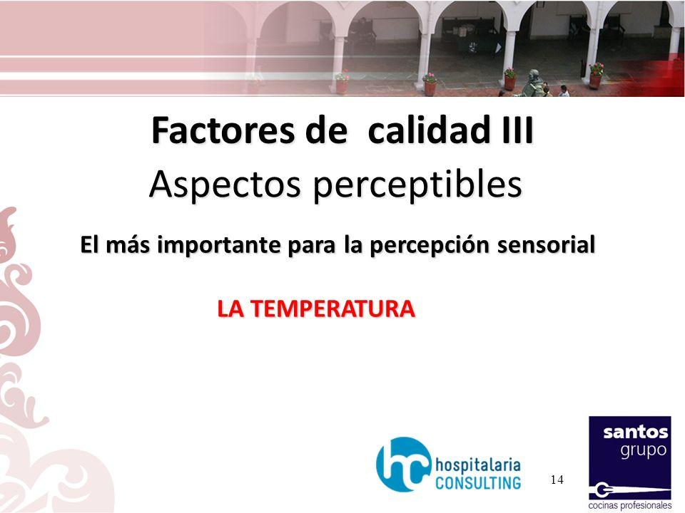 Factores de calidad III