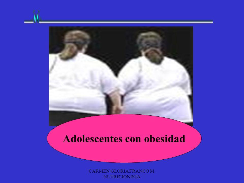 Adolescentes con obesidad