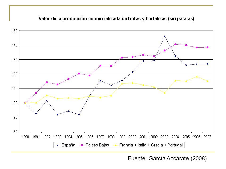 Fuente: García Azcárate (2008)