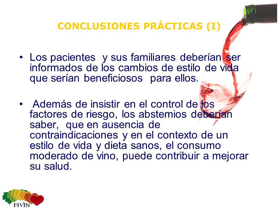 CONCLUSIONES PRÁCTICAS (I)