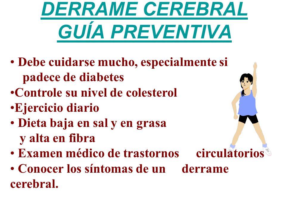 DERRAME CEREBRAL GUÍA PREVENTIVA
