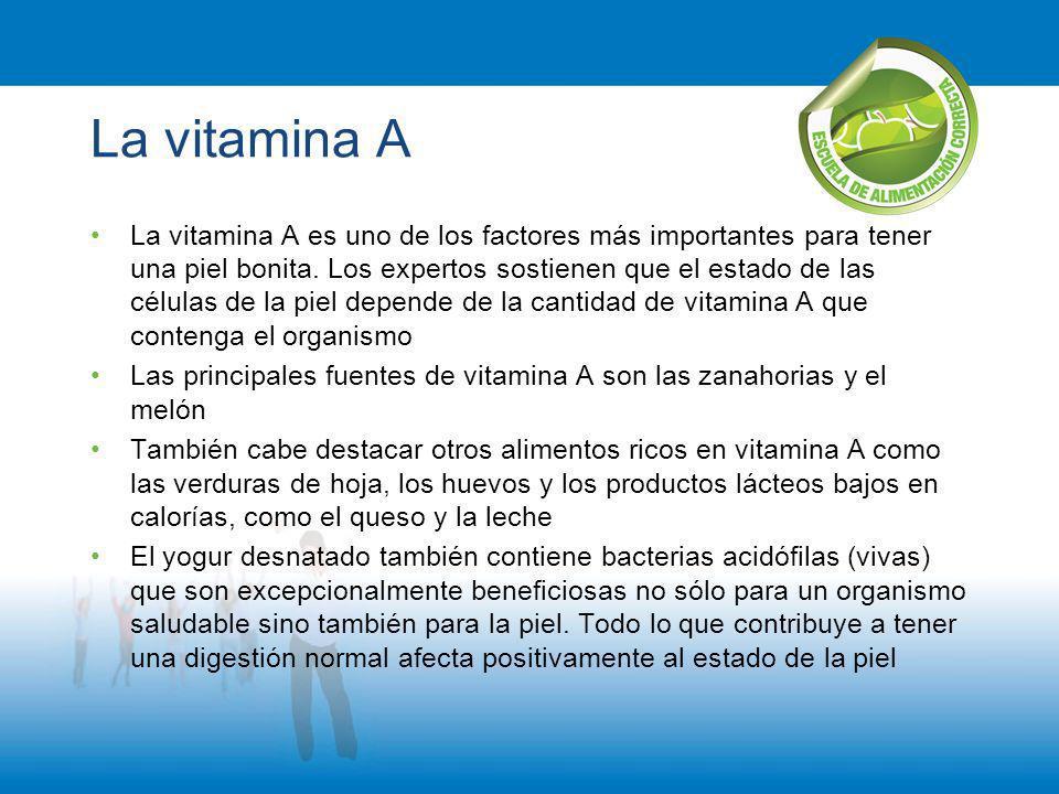 La vitamina A