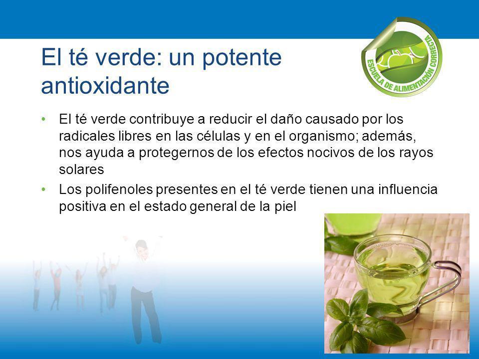 El té verde: un potente antioxidante