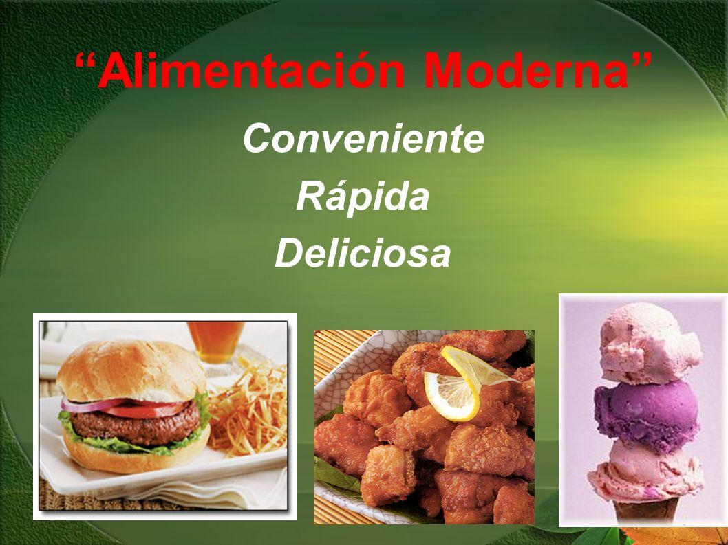 Alimentación Moderna